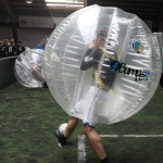 Bubble Football in Action